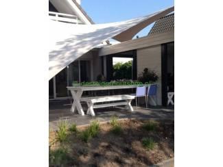 Tuinmeubelen Steigerhout tuinset model Daan