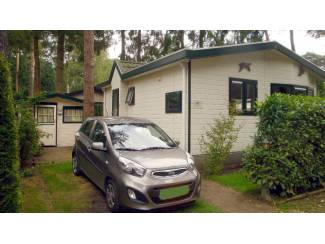 Vakantiehuizen   Nederland Te koop vakantiehuisje midden op de Veluwe met eigen grond