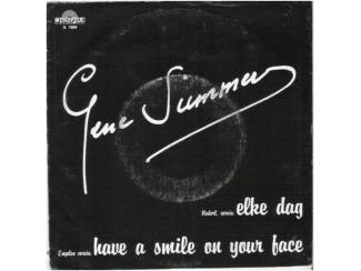 "GENE SUMMER: ""Have a smile on your face"" (in 't Engels!)"