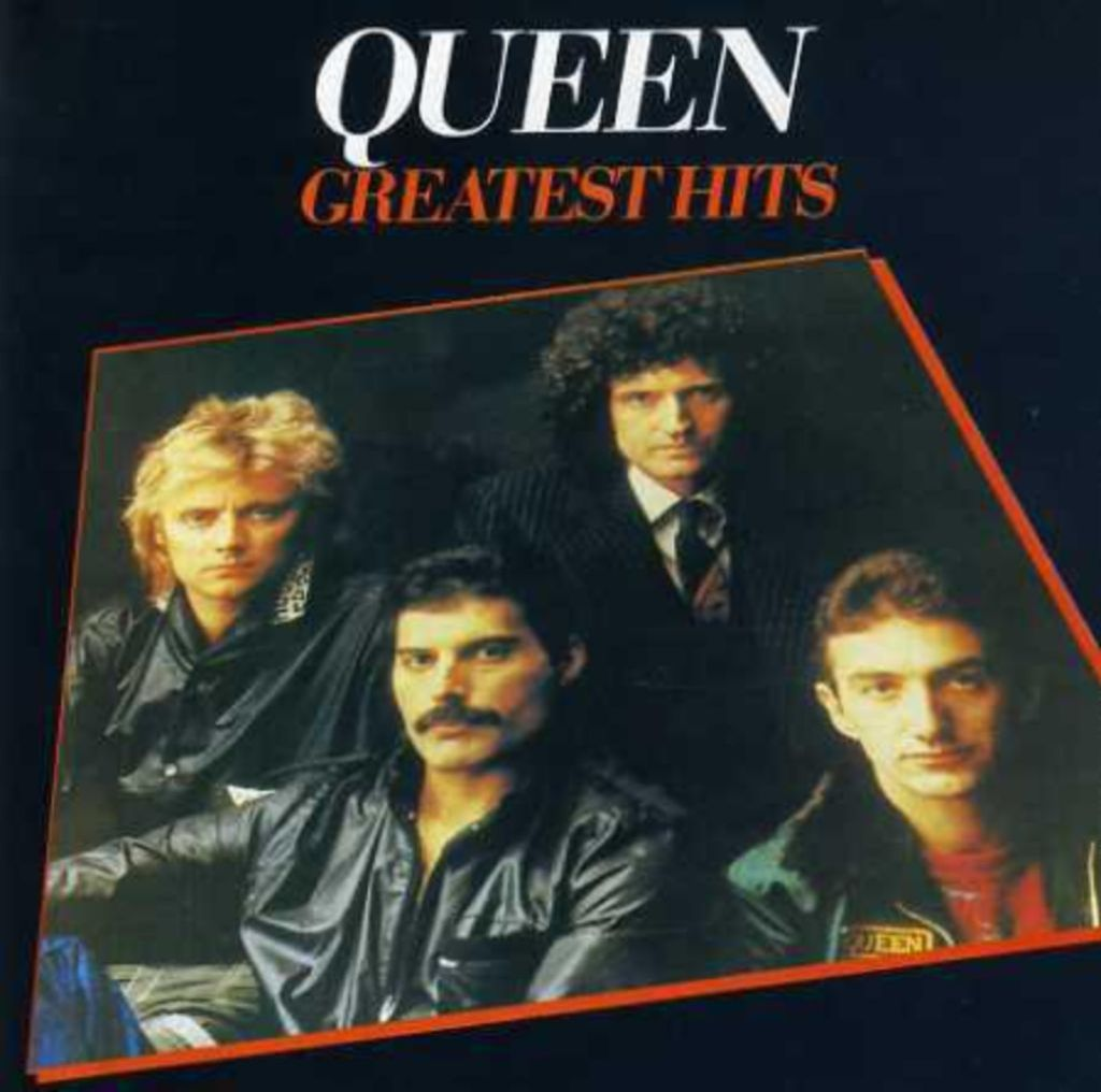 "QUEEN: CD ""Greatest hits"""