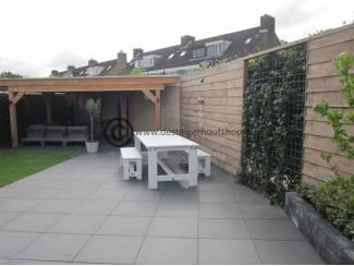 Tuinmeubelen Steigerhout tuinset model Duke