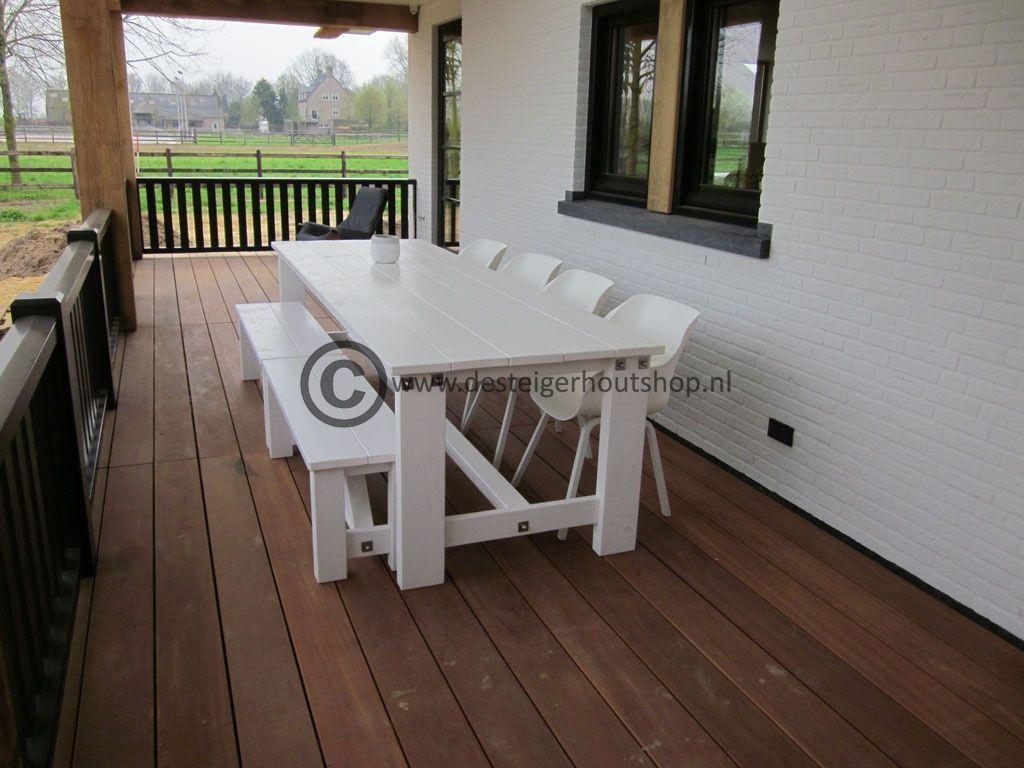 Steigerhout tuinset model Duke