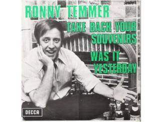 "RONNY TEMMER: ""Take back your souvenirs"" (in 't Engels!)"