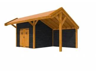 Tuinhuis douglas  Kapschuur Premium 2: 500 x 310 cm