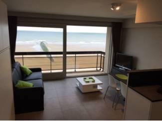 Vakantiehuizen   Belgie en Luxemburg Moderne studio op de zeedijk van Westende (4 personen)