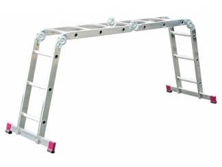 Multifunctionele ladder 4x3 treden 4,40m *NIEUW*