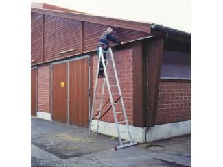 Veelzijdige ladder 2x11 treden 6,05meter! *NIEUW*