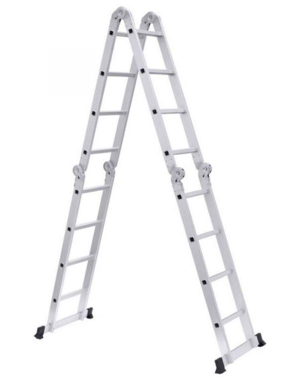 Multifunctionele ladder 4x4 treden 5,50m *NIEUW*