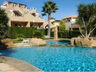 Spanje Costa-blanca vakantiewoning met zwembad zon zee en rust
