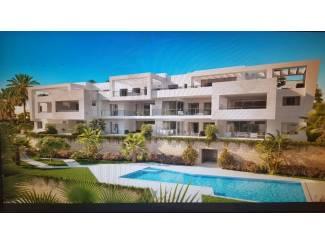 Moderne stijl appartementen eerste lijn golf complex Costa del So