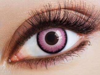 Crazy lenses, funlenzen, Pink Lunatic, jaarlenzen