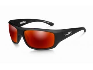 WileyX zonnebril - OMEGA, polarised smoke grey / mat black