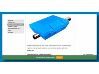 Sanitair Goedkoopste All-in-one Waterontharder alternatief va 89,-