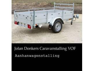 Bagagewagen aanhangwagen stalling