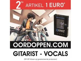 4EARS Musicians Pro 20dB Gehoorbescherming Gitarist | Oordopjes