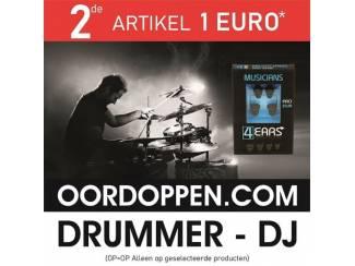 4EARS Musicians Pro 25dB Gehoorbescherming Drummer | Oordopjes