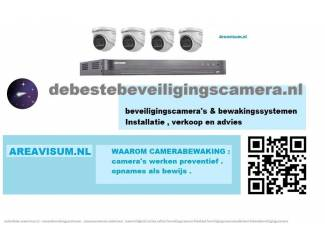 Hikvision DS-7204HUHI-K2 4 kanaals met 2 x 5MP camera