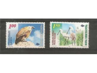 Vogels uit Bosnië en Herzegovina