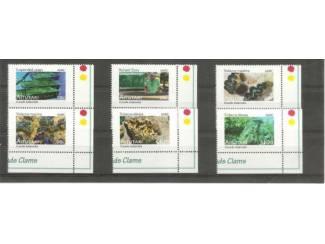 postzegels uit 2011 clams uit Aitutaki