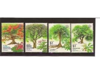 postzegels uit 2002 van bomen uit Singapore