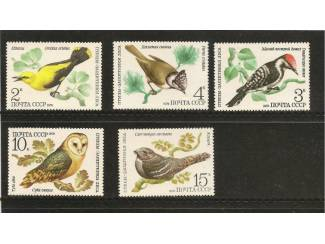postzegels vogels uit 1979 USSR