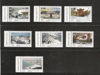 postzegels uit 2011 Winterwonderland uit Guernsey