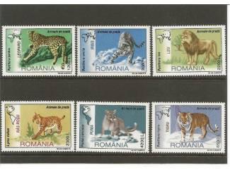 postzegels Big cats uit Roemenie