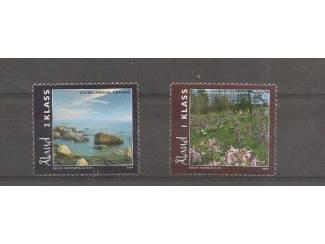 postzegels uit 20014 natuur uit Aland