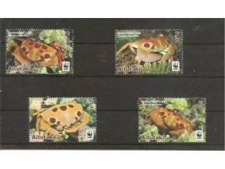 postzegels uit 2014 spotted Reef Crab uit Aitutaki