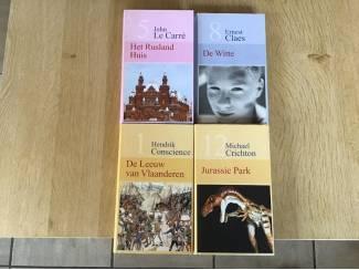 Romans 4 PRACHTIGE BOEKEN van Romans, Avontuur ,thrillers,enz