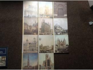 Steden van Belgie ; 11 prachtige boeken ,geschiedenis en nu