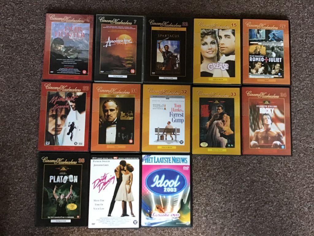 13 dvd,s film's alle genres zoals Actie , Avontuur, Familiefilms