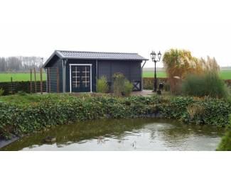 Tuinhuisjes, Blokhutten en Kassen Tuinhuis-Blokhut Kapschuur 6732: 667 x 320 x 282 (h)cm