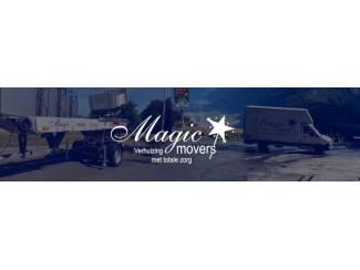 Verhuizers Verhuistoppers nodig? Magic Movers ook in uw regio!