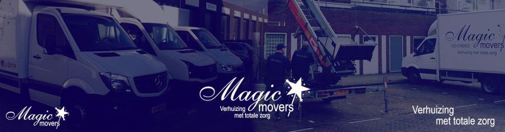 Verhuistoppers nodig? Magic Movers ook in uw regio!