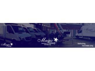 Verhuizers Magic Movers, de verhuisspecialist in uw regio!