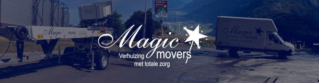 Magic Movers, de verhuisspecialist in uw regio!
