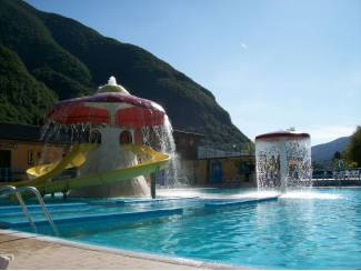 Vakantie | Autovakanties italie: chalet luganomeer porlezza camping international
