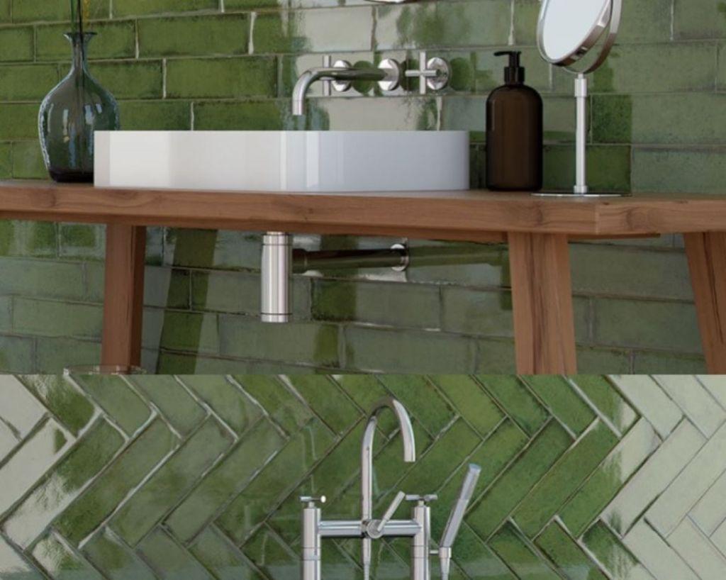 Online kopen handvorm tegels alchimia olive 7,5x30 cm
