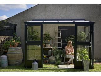 Tuinhuisjes, Blokhutten en Kassen Muurkas Veranda 44 : 296 x 149 x 231 cm  (b x d x h)