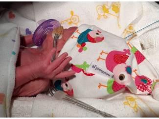 Babykleding | Prematuur vrolijke prematuurmutsjes vanaf maat 24