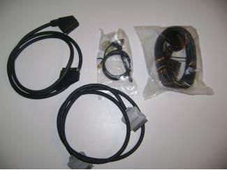 Kabels voor aaneen sluiten van Tv. naar Video, DVD, recorder, ca