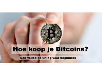 Hoe koop je Bitcoins? Gratis volledige uitleg voor beginners