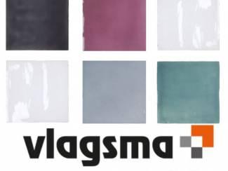 Tegels Oud Hollandse 13x13 cm handvorm tegels in 5 unieke kleuren