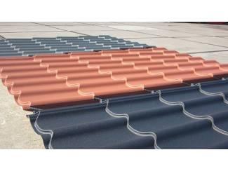 Dakpanplaten matte coating in diverse kleuren