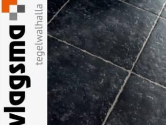 Plavuis Getrommeld 50x50 Zwart Niet Gratis Wel Heel Goedkoop