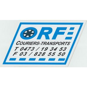 Orf couriers